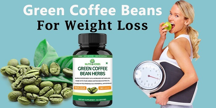 Organic green coffee bean
